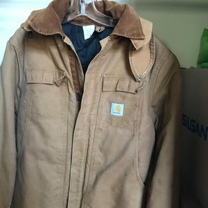 Carhartt Jacket with hood size 42